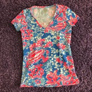 Lilly Pulitzer Tops - Lily Pulitzer T- Shirt